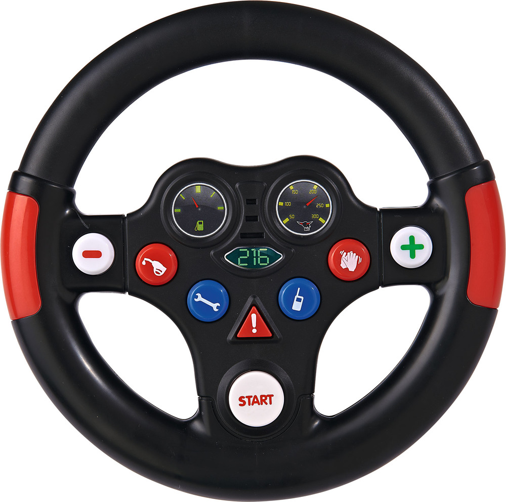 big racing sound wheel lenkrad bobby car jetzt online kaufen. Black Bedroom Furniture Sets. Home Design Ideas