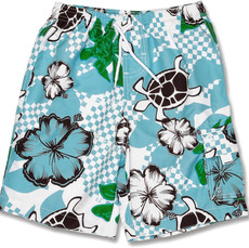 Snapperrock UV-Schutz Badeshorts Tropical Turtle