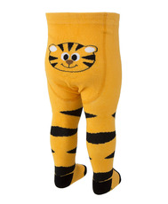Dimbo world Strumpfhose Pinguin Tiger Tom orange