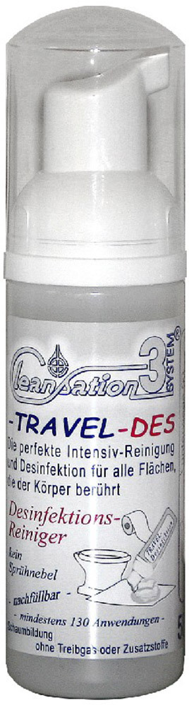 Cleansation 3-Travel  Desinfektionsreiniger, 50ml (3309)