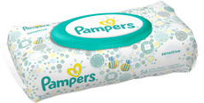 Pampers Feuchte Tücher Sensitive LIMITED EDITION