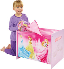 Worlds Apart Toy Box MDF + Canvas Princess