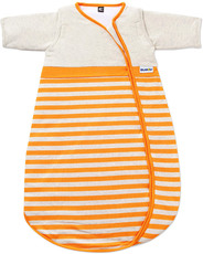 BUBOU Schlafsack Orange Stripes