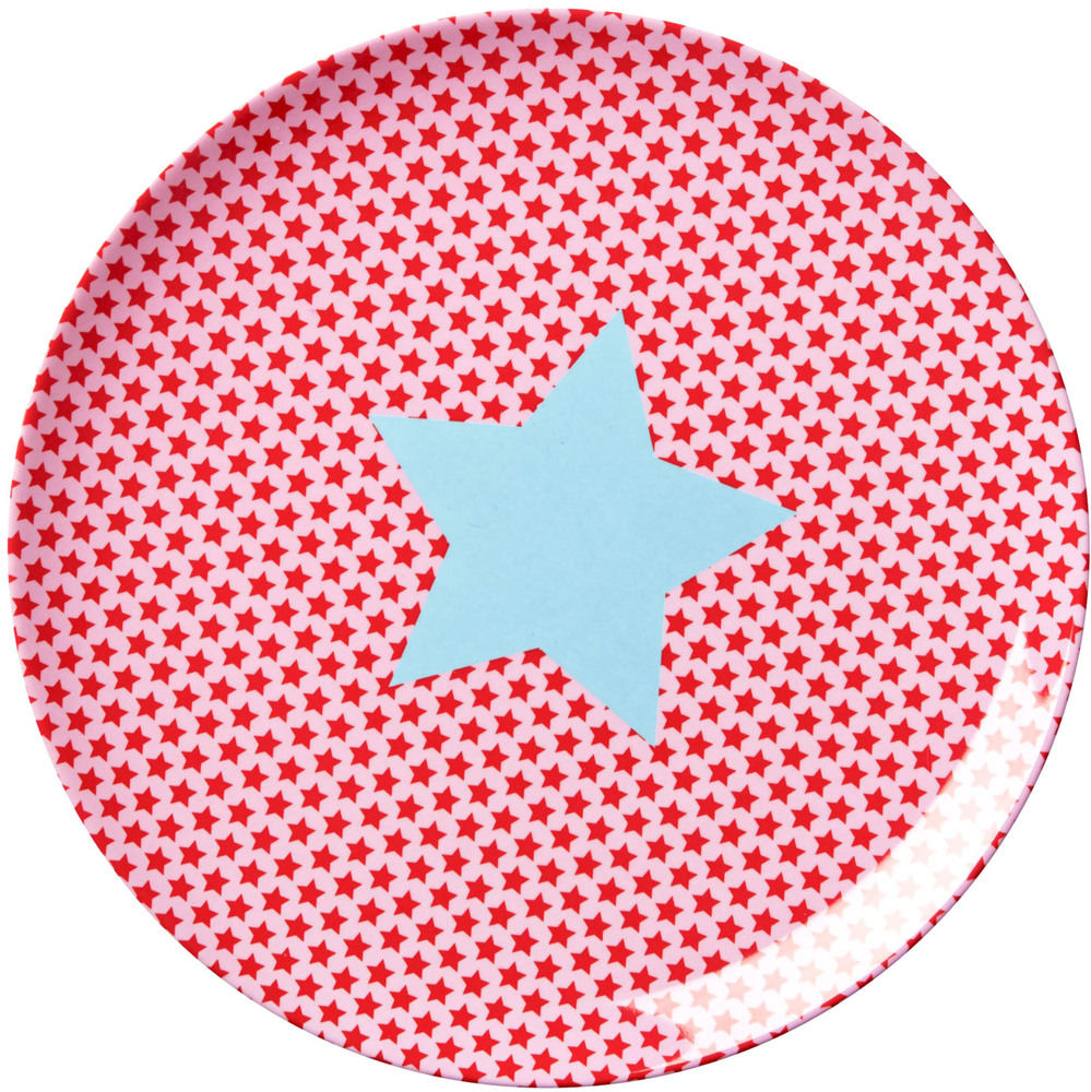 Kids Lunch Plate Girls Star Print (KILPL-STARG)