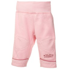 BMS Antarctic Fleece Baby Hose mit Strickbund rosé