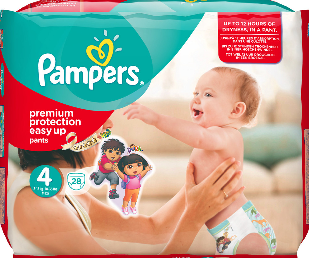 Pampers Easy up  Maxi, 28 Stück, Gr. 4