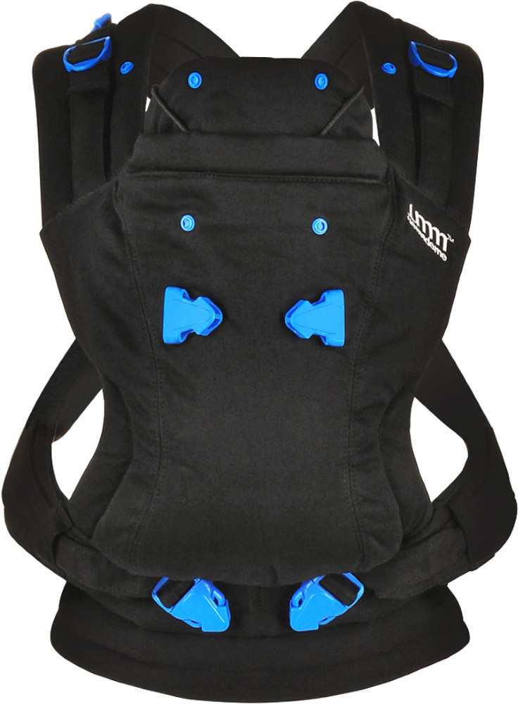 Vital Innovations Pao Papoose Tragetuch  Midnight Black (PPMB0994)