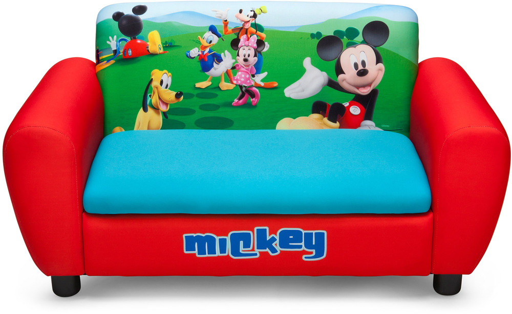 delta kids luxus sofa disney mickey jetzt online kaufen. Black Bedroom Furniture Sets. Home Design Ideas