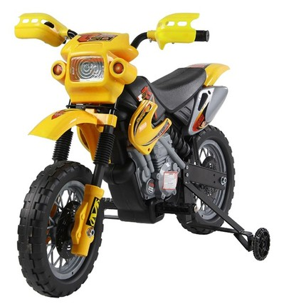 moto cross lectrique enfant aosom 3 ans jouets 12 mois et plus. Black Bedroom Furniture Sets. Home Design Ideas