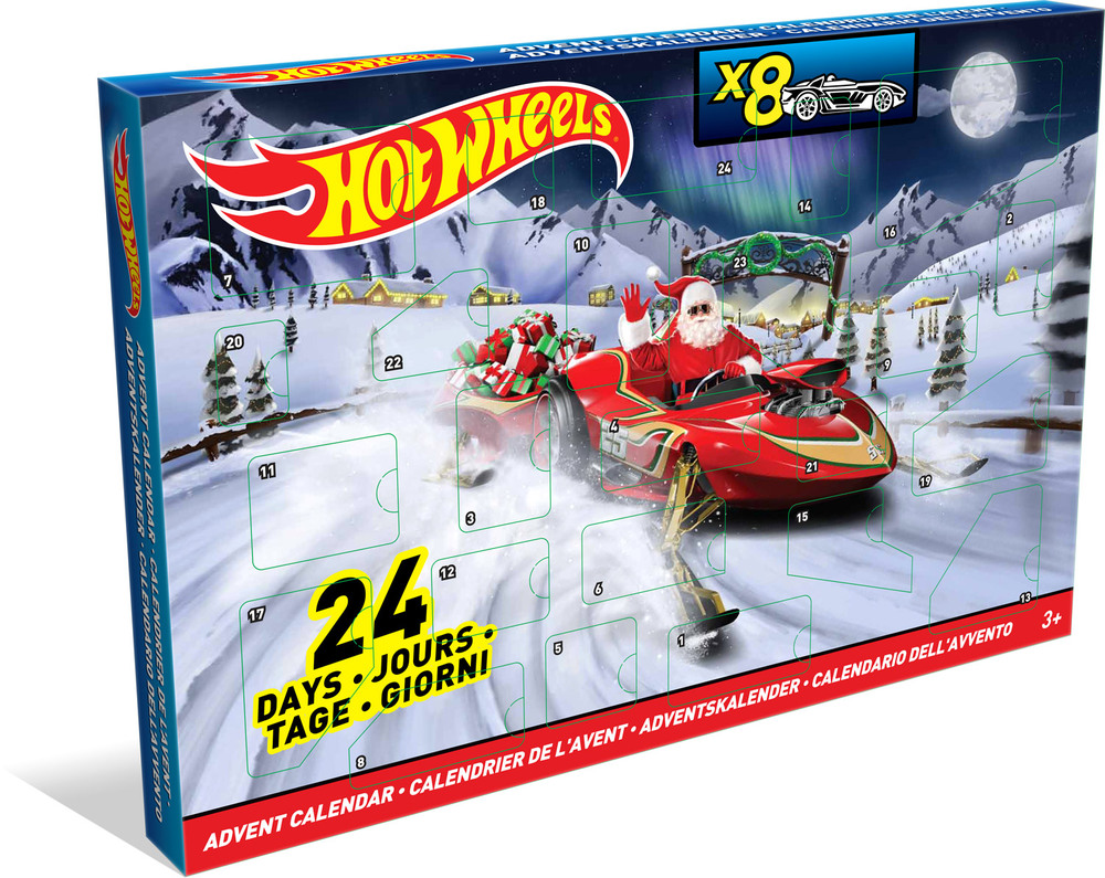 hot wheels adventskalender