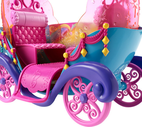 barbie regenbogen prinzessin einhorn und kutsche. Black Bedroom Furniture Sets. Home Design Ideas