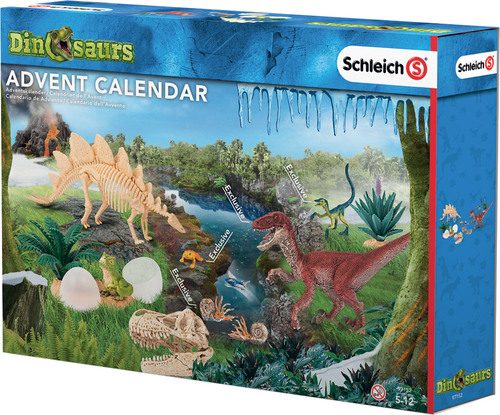 schleich adventskalender dinosaurier 2016 schleich. Black Bedroom Furniture Sets. Home Design Ideas
