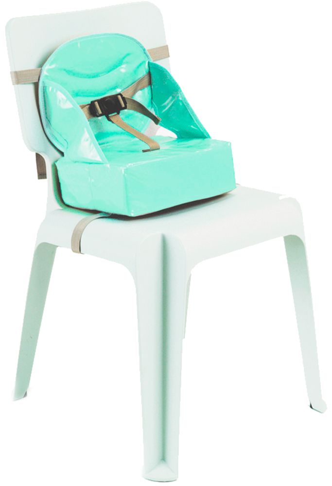 Si ge b b 2 en 1 nomade rehausseur fresh mint baby to for Chaise nomade baby to love