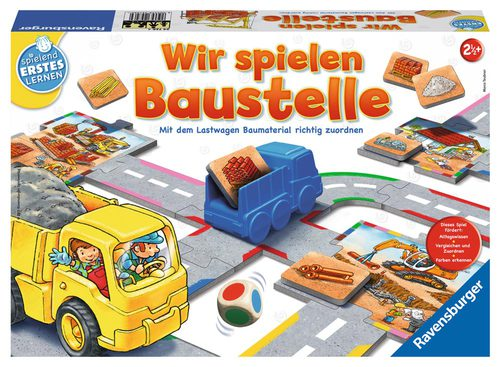 ravensburger spielen und lernen wir spielen baustelle brettspiele jetzt online kaufen. Black Bedroom Furniture Sets. Home Design Ideas