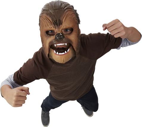 nerf star wars e7 elektronischen maske von chewbacca jungenkost me jetzt online kaufen. Black Bedroom Furniture Sets. Home Design Ideas