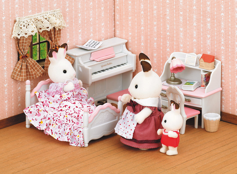 sylvanian families m dchenzimmer spielsets jetzt. Black Bedroom Furniture Sets. Home Design Ideas