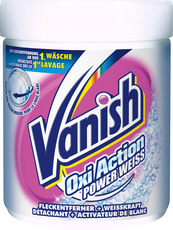Vanish Oxi Action Pulver Power Weiss