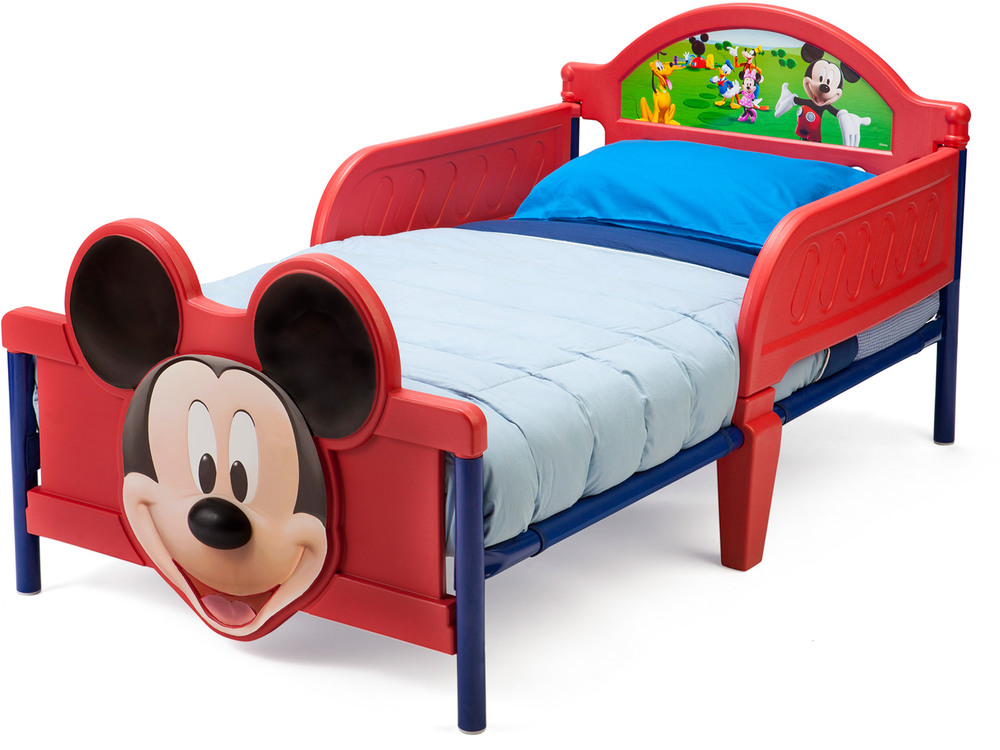 delta kids 3d kinderbett disney mickey babybett jetzt online kaufen. Black Bedroom Furniture Sets. Home Design Ideas