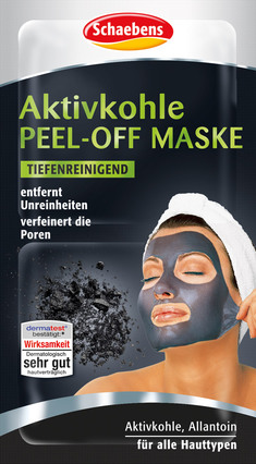schaebens aktivkohle peel off maske gesichtsmasken jetzt online kaufen. Black Bedroom Furniture Sets. Home Design Ideas