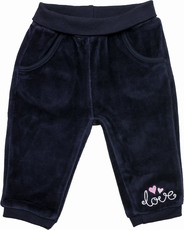 Salt & Pepper Nicki Babyhose mit Schlupfbund - Love