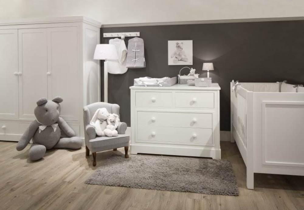 wood work kinderzimmer will weiss 3 teiliges babyzimmer jetzt online kaufen. Black Bedroom Furniture Sets. Home Design Ideas