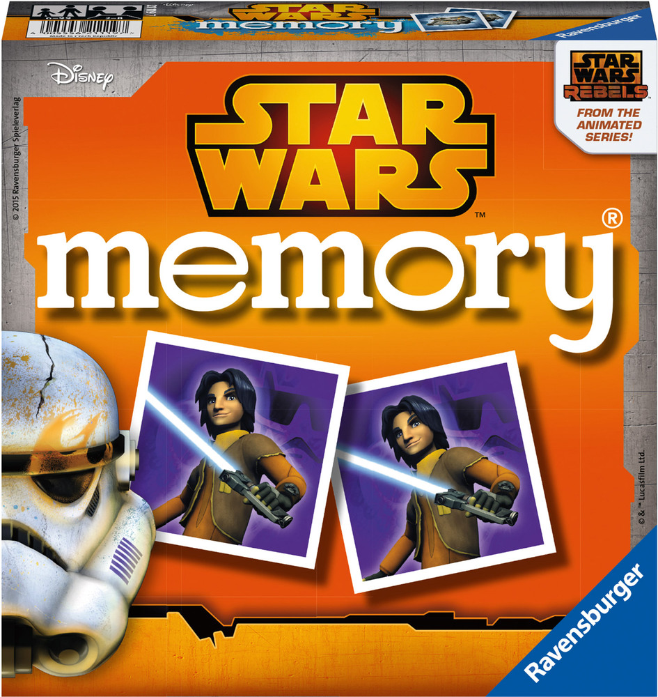 ravensburger lustige kinderspiele star wars rebels memory memory jetzt online kaufen. Black Bedroom Furniture Sets. Home Design Ideas