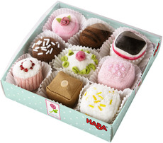 HABA Petit Fours, 9er Set