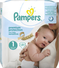 Pampers New Baby Sensitive Windeln