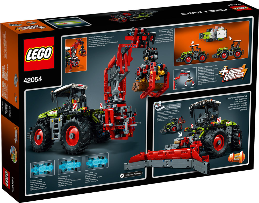 lego technic 42054 claas xerion 5000 trac vc lego. Black Bedroom Furniture Sets. Home Design Ideas