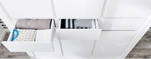 pinolino kleiderschrank milk kinderschrank 3 t rig jetzt online kaufen. Black Bedroom Furniture Sets. Home Design Ideas