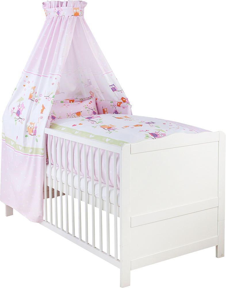julius z llner bett set eulenfreunde baby bettw sche set jetzt online kaufen. Black Bedroom Furniture Sets. Home Design Ideas