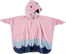 name it Badeponcho Flamingo