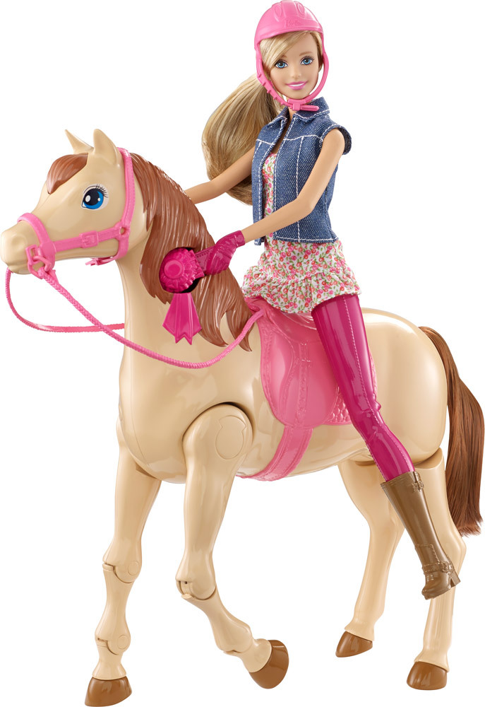 barbie reitpferd