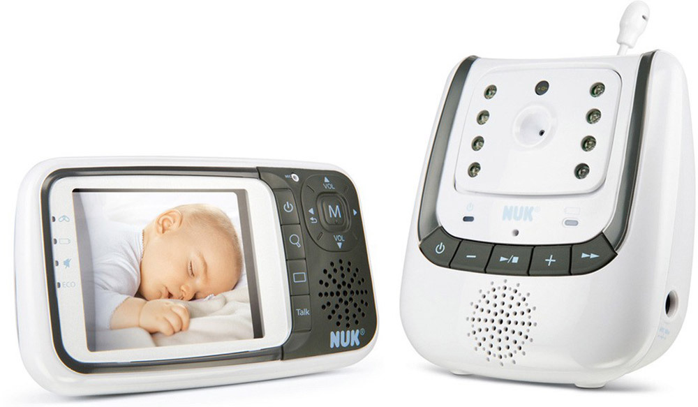nuk babyphone eco control video babyphone mit kamera jetzt online kaufen. Black Bedroom Furniture Sets. Home Design Ideas