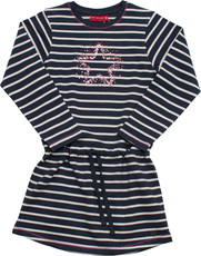 Salt & Pepper Jersey Kleid gestreift - Stern