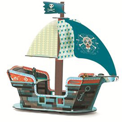 DJECO Pop to play: Pirate boat 3D   Spielsets - Jetzt online kaufen