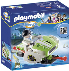 PLAYMOBIL® Super 4 - 6691 - Skyjet
