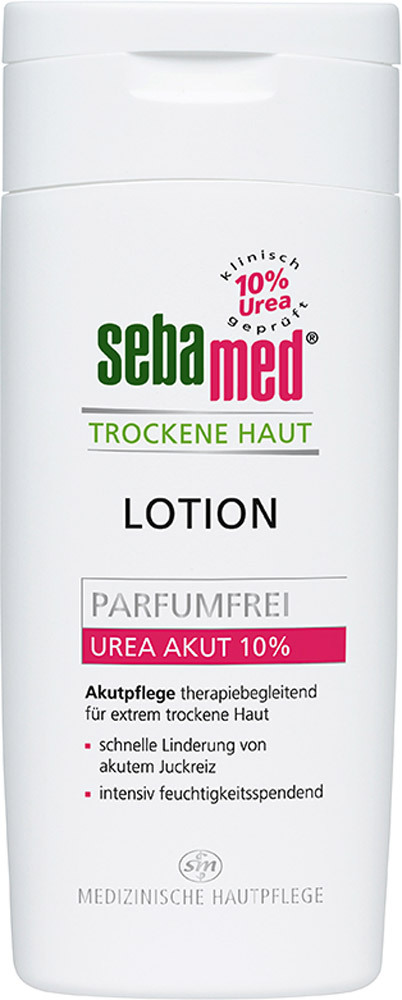sebamed lotion urea akut 10 parfumfrei hautpflege jetzt online kaufen. Black Bedroom Furniture Sets. Home Design Ideas