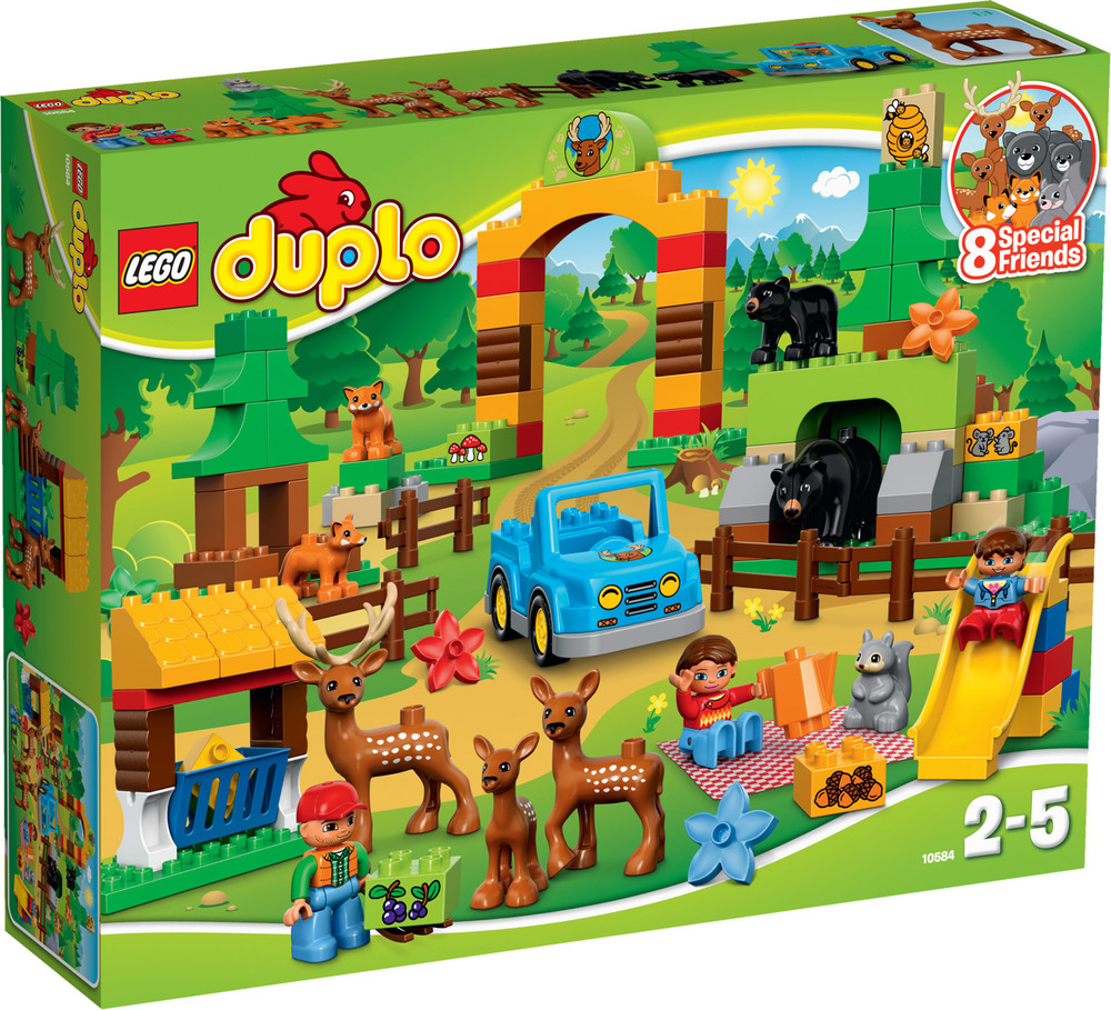 lego duplo 10584 wildpark lego duplo jetzt online kaufen. Black Bedroom Furniture Sets. Home Design Ideas
