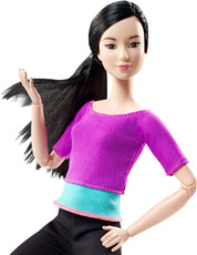 Barbie Barbie Made to Move mit lila Top
