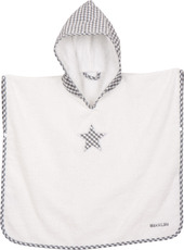 Max & Lilly Bade-Poncho Lea mit Stern