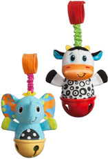 infantino Wrap & Play Bell Bottom Pal cow