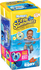 Huggies Little Swimmers - Aktion Wasserball