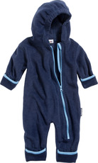 Playshoes Fleece Overall mit Kapuze
