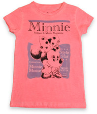 Relaunch Minnie Magazine T-Shirt Girls