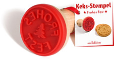 arsEdition Keks-Stempel-Frohes Fest