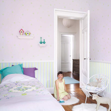 casadeco vliestapete myroom bl mchen kinderzimmer. Black Bedroom Furniture Sets. Home Design Ideas