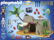 PLAYMOBIL® Super 4 - 4797 - Piraten-Höhle