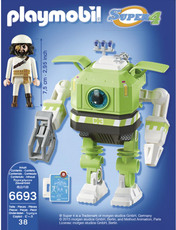 PLAYMOBIL® Super 4 - 6693 - Cleano-Roboter