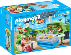 PLAYMOBIL® Summer Fun - 6672 - Shop mit Imbiss